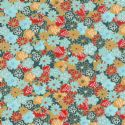Floral yuzen, Assorted colours, 59.5cm x 44cm, 1 sheet, [WJ135]